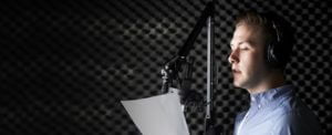 Man-In-Recording-Studio - Global Voice Acting Academy